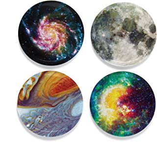 Buttonsmith Science Astronomy Magnet Set - Set of 4 1.25