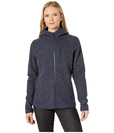 Mountain Hardwear Hatcher Full Zip Hoodie (Dark Zinc) Women