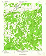 YellowMaps Stonefort IL topo map, 1:24000 Scale, 7.5 X 7.5 Minute, Historical, 1961, Updated 1962, 26.8 x 22 in