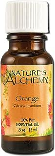 Nature's Alchemy 100% Pure Essential Oil, Orange, 0.5 Fluid Ounce