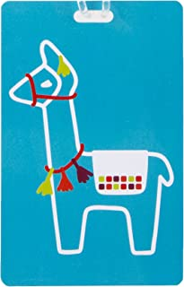 Travelon Personal Expression Luggage Tag,Llama, Multicolor