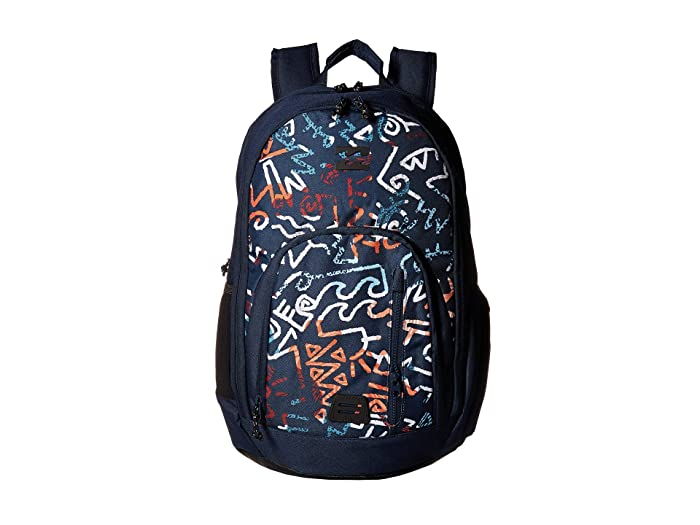 Billabong Command Pack (Navy Coral) Backpack Bags