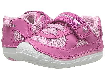 Stride Rite SM Jamie (Infant/Toddler) (Pink) Girls Shoes