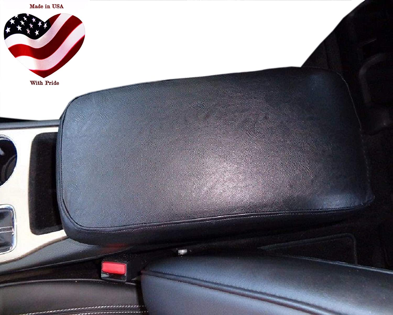 Car Charlotte Mall Console Covers Plus Made Denver Mall in Leather Center Faux USA Armrest