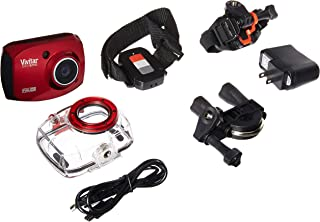 """Vivitar Full 1080p HD action cam with Remote control and 2"""" LCD Screen - Color and Styles May Vary (Discontinued by Manufacturer)"""