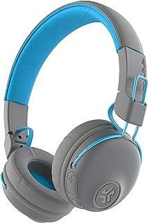 JLab Audio Studio Bluetooth Wireless On-Ear Headphones | 30+ Hour Bluetooth 5 Playtime | EQ3 Sound | Ultra-Plush Faux Leather & Cloud Foam Cushions | Track and Volume Controls Bluetooth Gray Studio