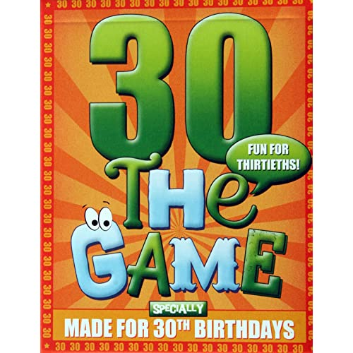 The 30th Birthday Game