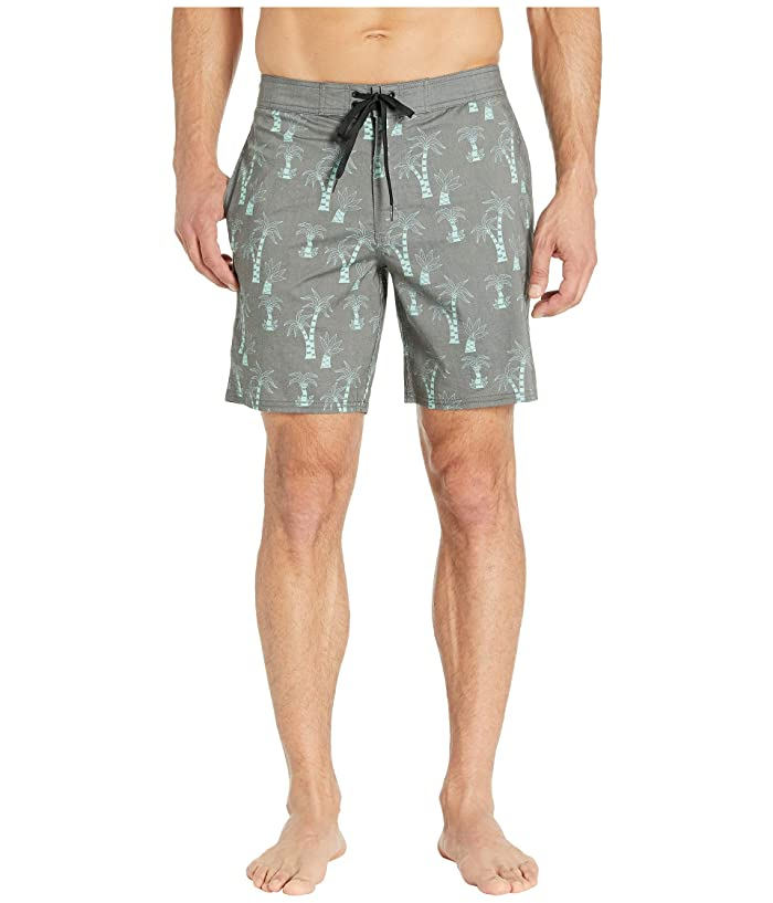 RVCA KLW Palms Trunks (Black) Men