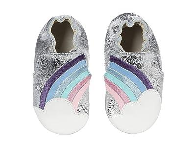 Robeez Hope Soft Sole (Infant/Toddler) (Silver) Girl