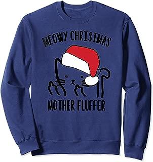 meowy christmas mother fluffer jumper