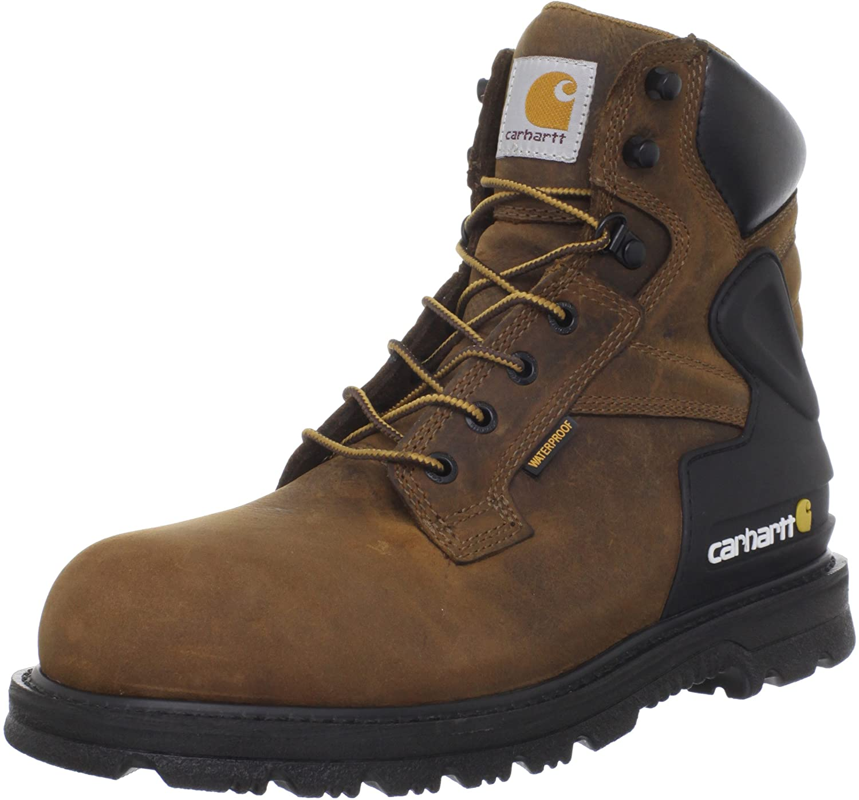 Carhartt Men's CMW6220 6 Steel Toe Work Boot