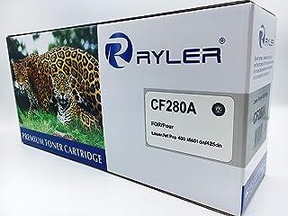 خراطيش حبر متوافقة من رايلر لـ CF280A - اسود