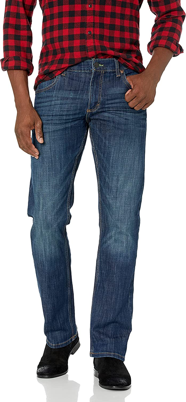 Wrangler Men's Size Retro Tall Slim Fit Straight Leg Jean