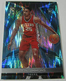 2016 Panini Spectra Neon Blue Ben Simmons Rookie Card #'d 47/60 76ers SP RC - Panini Certified - Unsigned Basketball Cards