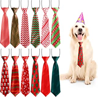 christmas tie for dogs