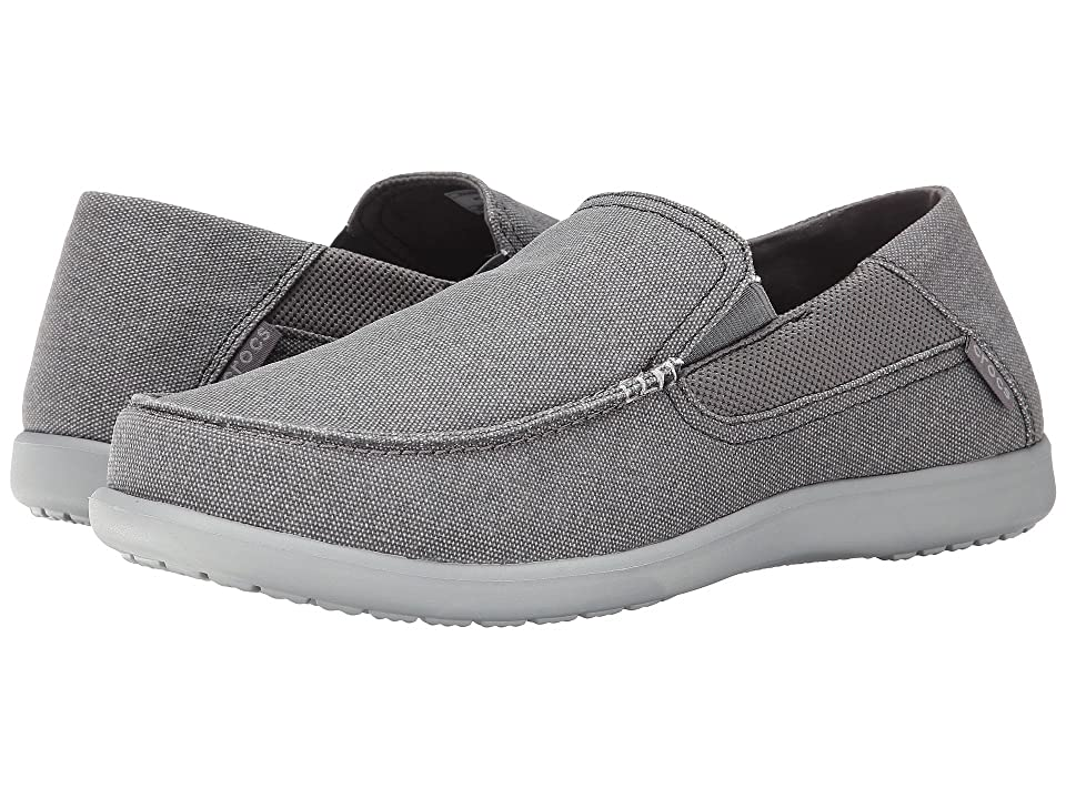 c1101588cf6 Crocs Santa Cruz 2 Luxe (Charcoal Light Grey) Men