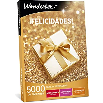 WONDERBOX Caja Regalo para papá -¡FELICIDADES!- 5.000 Actividades ...