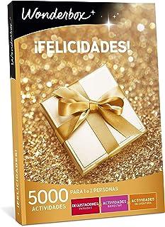 comprar comparacion WONDERBOX Caja Regalo para papá -¡FELICIDADES!- 5.000 Actividades para una o Dos Personas