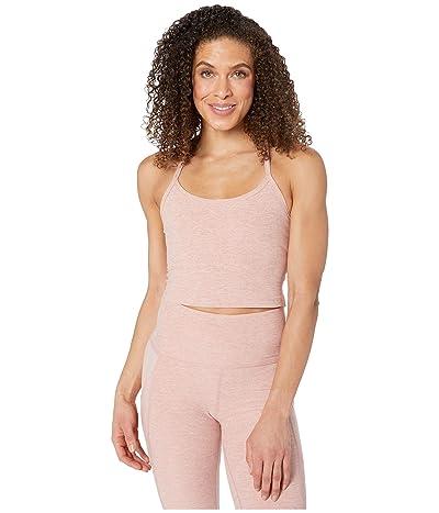 Beyond Yoga Spacedye Slim Racerback Cropped Tank Top (Tinted Rose/Pink Quartz) Women