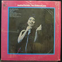 ARETHA FRANKLIN TWO SIDES OF LOVE vinyl record