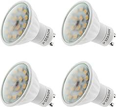 SEBSON 4 x GU10 LED Lamp 5W Warm Wit 3000K, vervangt 40W Halogeenlamp, 380lm, 230V LED Lichtbronnen, Inbouwspot 110°