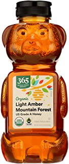 365 by Whole Foods Market, Organic US Grade A Honey, Light Amber Mountain Forest, 24 Ounce