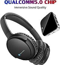 TV Headphones, BKM100 Wireless Headphones for TV with Bluetooth Transmitter &..