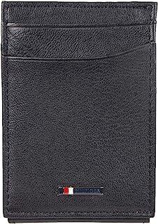 Men's RFID Slim Front Pocket Wallet, black, One Size