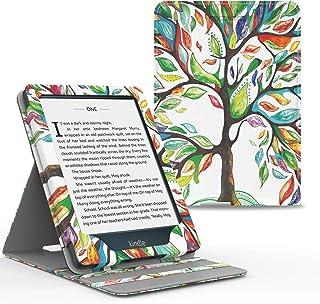 MoKo Kindle Paperwhite E-reader Case, Copertura di Vibrazione Verticale Custodia per Amazon Kindle Paperwhite (10a Generaz...