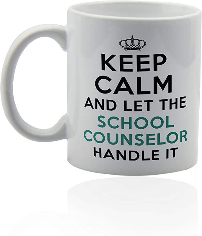 School Counselor Ceramic Mug For Coffee Or Tea 11 Oz Funny Gag Joke Gift Cup