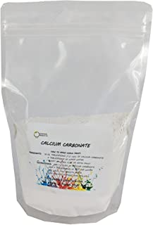 "Calcium Carbonate Powder""Greenway Biotech Brand"" Chalky Paint Additive Limestone Powder Rock Dust Very Fine Powder 2 pounds"