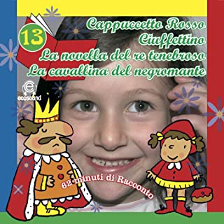 Favole per bambini: Le fiabe di Milù, Vol. 13 (62 minuti di racconto Ecosound: Cappuccetto Rosso, Ciufettino, La novella del Re Tenebroso, La cavallina del Negromante)