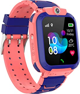 Zeerkeer GPS Reloj Inteligente Niños,Smartwatch Niños con GPS+LBS Impermeable IP67 SOS Cámara Smart Watch Telefono con Ran...