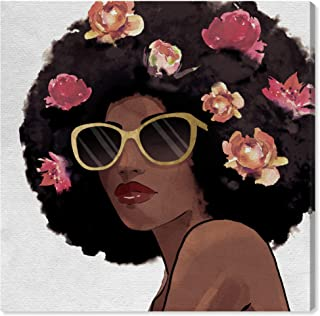 Wynwood Studio Fashion and Glam Wall Art Canvas Prints 'Flowers to Inspire Shades' Home Décor, 12