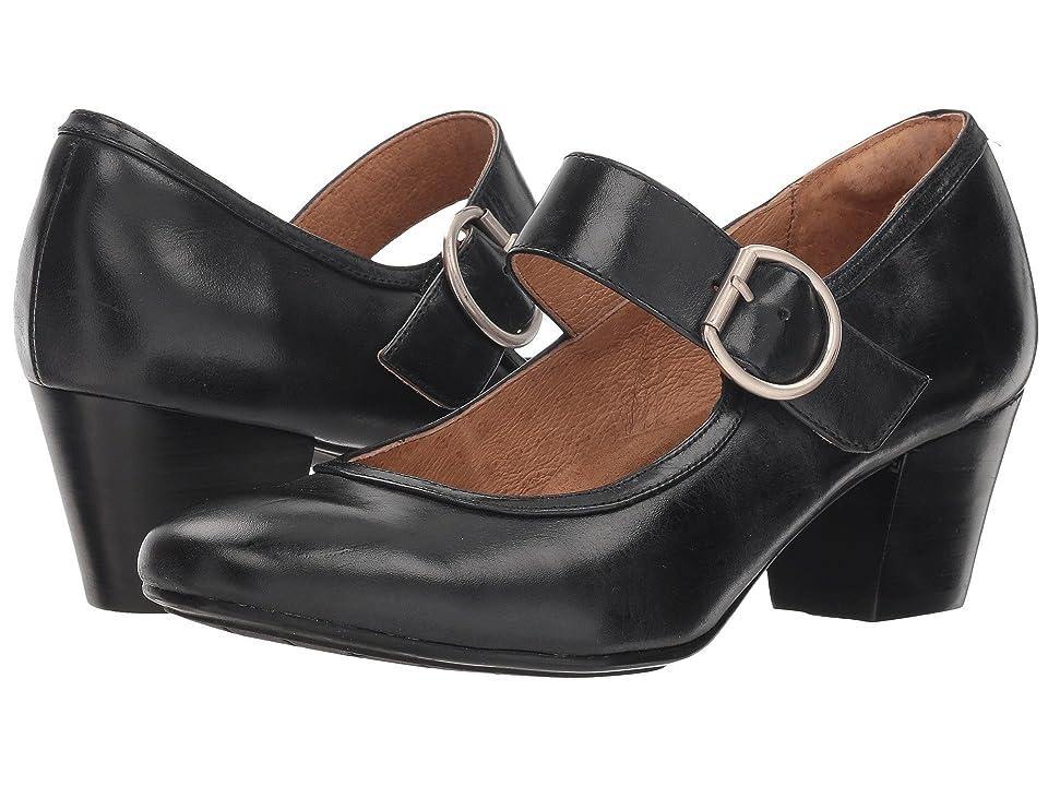 60s Shoes, Boots | 70s Shoes, Platforms, Boots Sofft Lorna Black Montana High Heels $99.95 AT vintagedancer.com