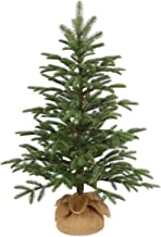 National Tree Company 'Feel Real' Artificial Mini Christmas Tree | Includes Cloth Bag Base | Norwegian Seedling - 3 ft