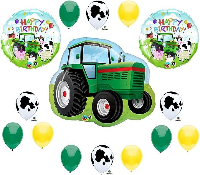 Tractor Balloon Tractor Decor Farm Tractor 34 Mylar Balloon Farm Theme Tractor Theme Boys Birthday Farm Birthday Farm Party Decor