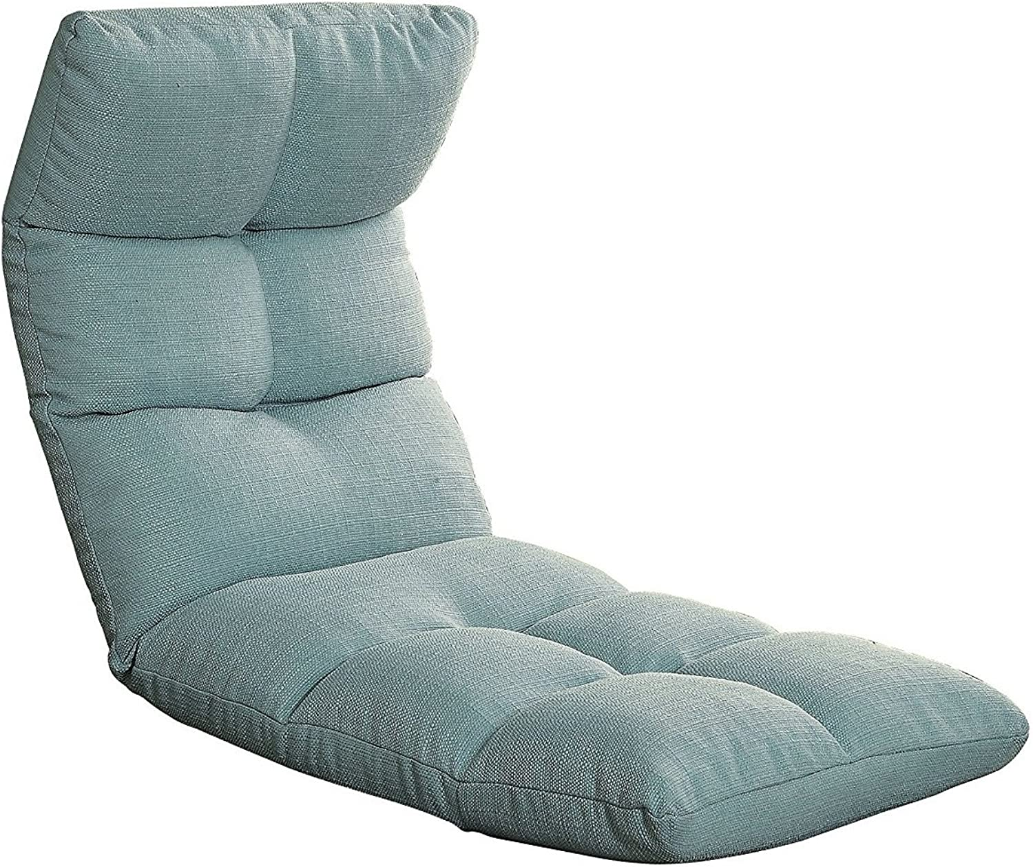 Major-Q Congreenible Youth Gaming Chair for Living Room Game Room Bedroom, Teal Bed  51 x 20 x 4, Seat  33.46  x 20  x 33.46