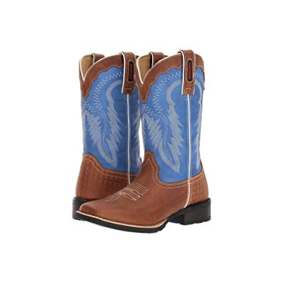 Durango Mustang 10 Western (Royal Blue/Brown) Cowboy Boots