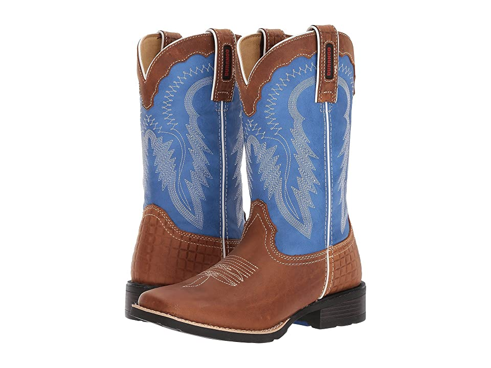 Durango Mustang 10 Western (Royal Blue/Brown) Cowboy Boots