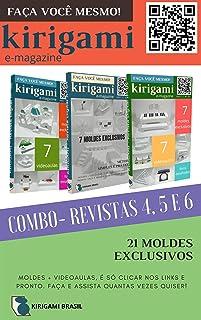 Kirigami - COMBO edições 04, 05 e 06