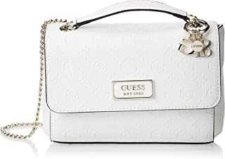 Guess Womens Cross-Body Handbag, Ivory - SG766221