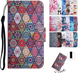 Everainy kompatibel för Samsung Galaxy A8 2018 fodral silikon PU-läder fodral flip kortfack plånbok plånbok väska magnetis...