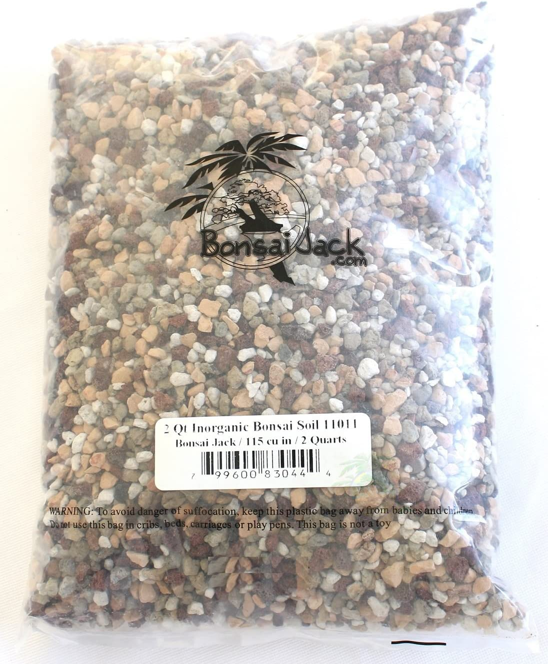 Bonsai Jack Inorganic Bonsai Soil Mix 11011 Ph 6 7 2 Dry Quarts Garden Outdoor Amazon Com