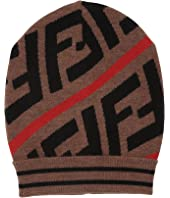 Fendi Kids - Logo Knit Beanie (Toddler/Little Kids/Big Kids)