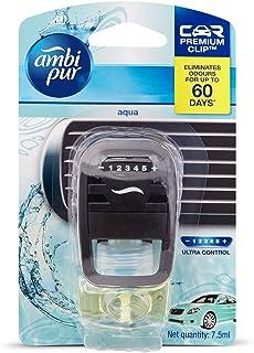 Ambi Pur Aqua Car Vent Air Freshener Starter Kit (7.5 ml) (82209460)