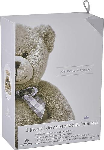 DOMIVA Boîte Trésors + Livre Naissance Little Bear