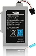 Wii U Gamepad 3600 mAh Replacement Rechargeable Battery Pack by Other Future photo