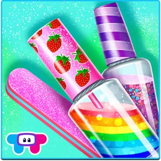 Candy Nail Art - Sweet Spa Fashion Game