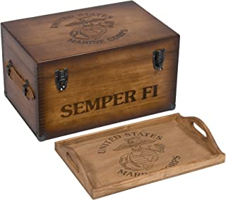 Marine Corps Keepsake Chest